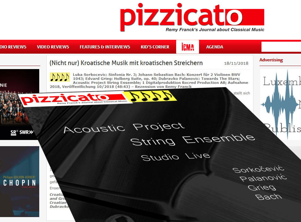 4/5 review from Pizzicato